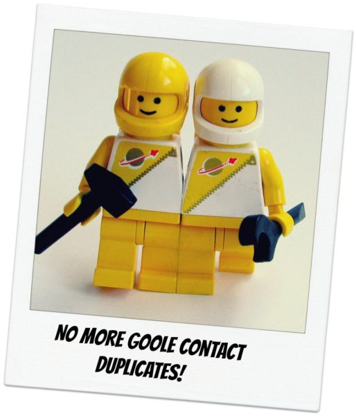 google contacts duplicates