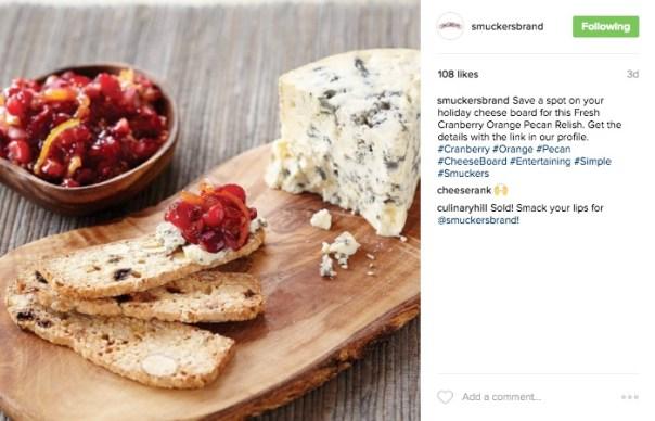 Smuckers Instagram Link in Bio