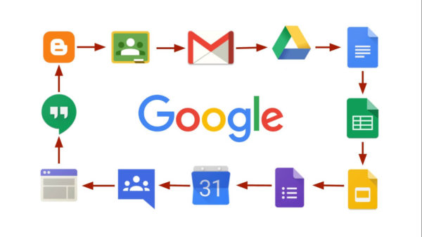 google apps logos
