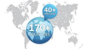 Image depicting international software distribution