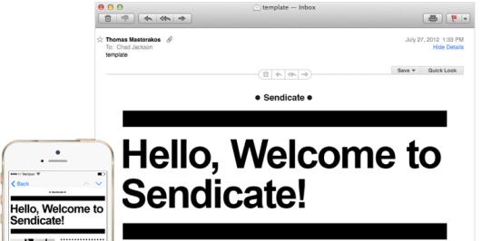 Sendicate Email Marketing Platform
