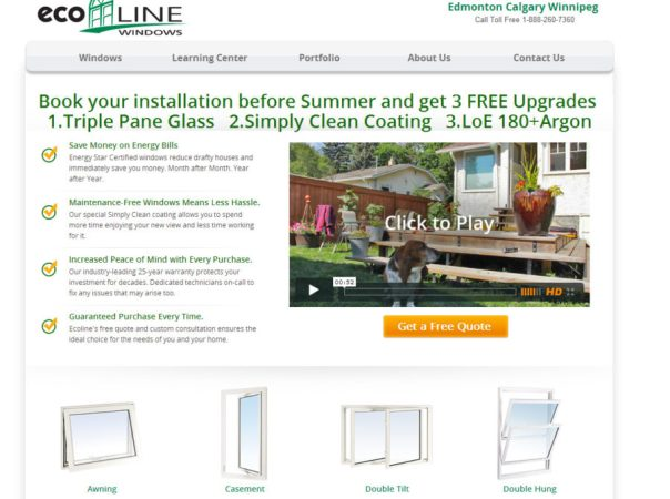 Book your installation conversion