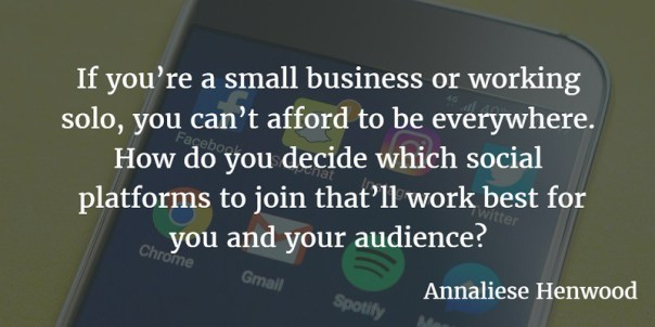 Social Media Platforms article quote