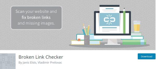 Broken Link Checker plugin for WordPress