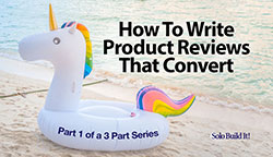 How to Write Product Reviews