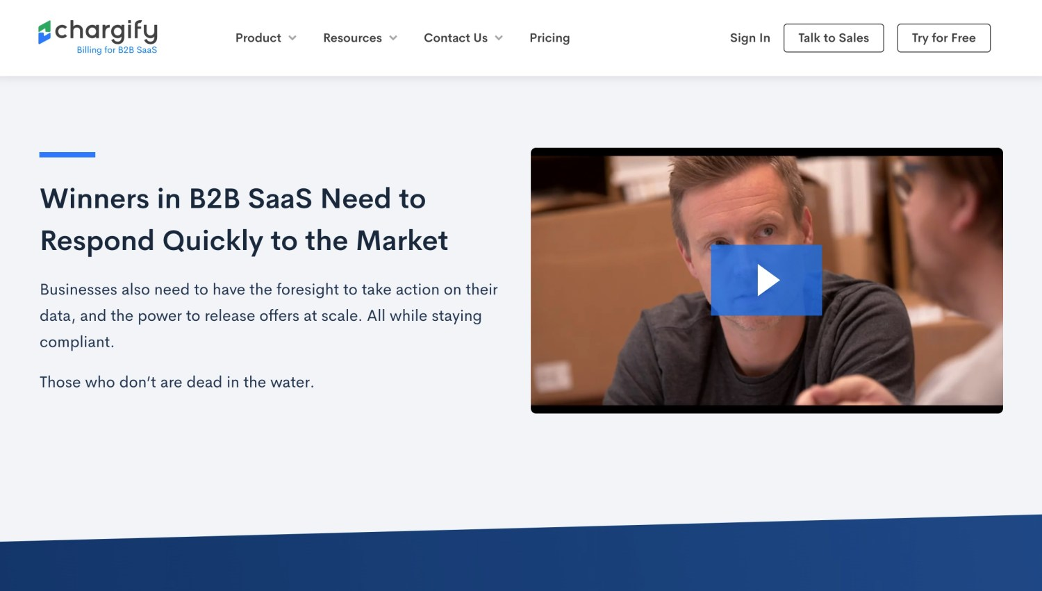 video content on landing pages
