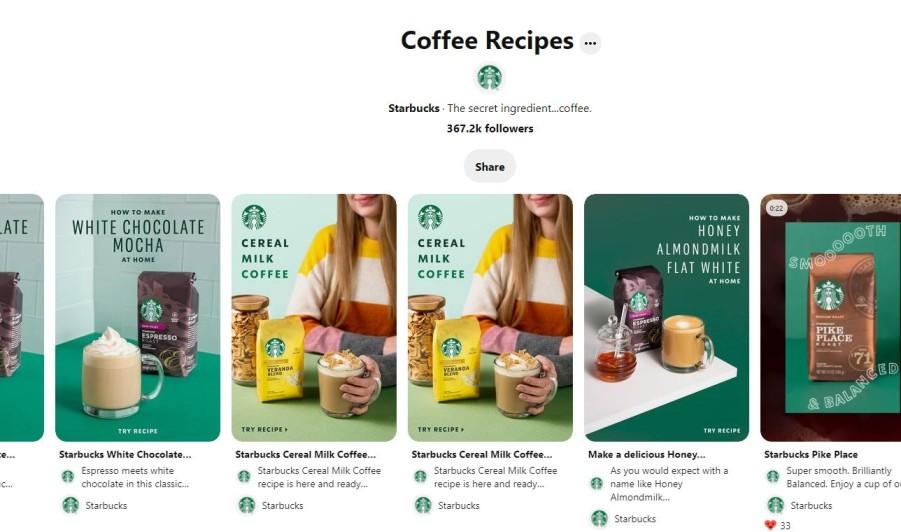 Starbucks Boards
