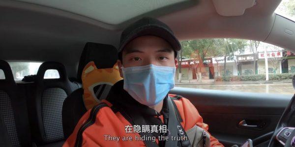 In einem Video vom 16. Februar wirft Li Zehua der chinesischen Regierung Vertuschung vor.