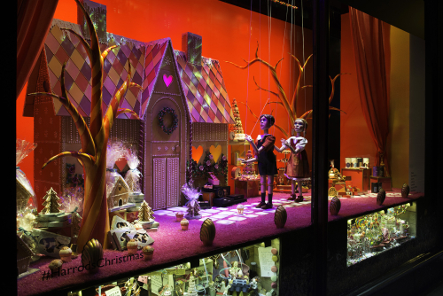 Harrods Christmas windows 2015 | Source: Harrods