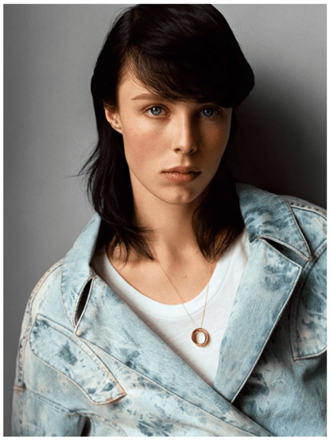 Edie Campbell - Stylist: Suzanne Koller - Self Service 40th Anniversary Issue 2014 | Photo: Alasdair McLellan