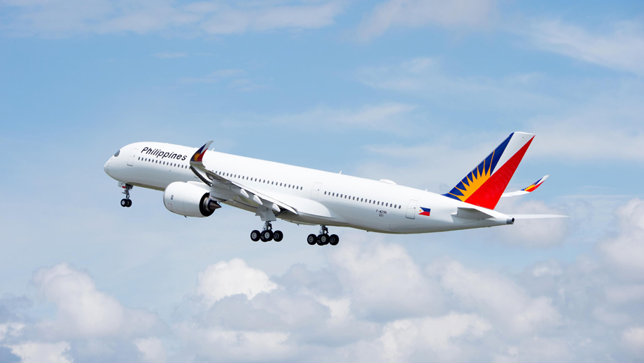 Philippine Airlines' new Airbus A350 takes first flight – Business Traveller