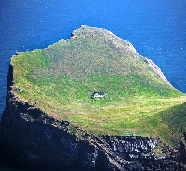 Ellidaey Island Is Home To The Loneliest House In The World