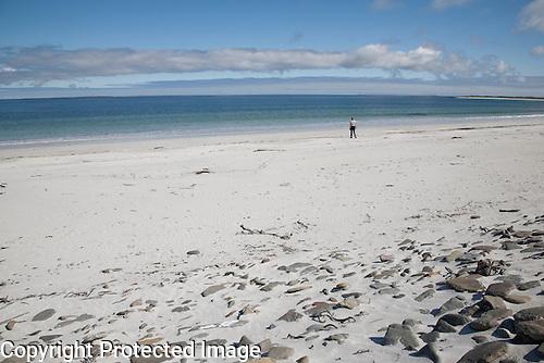 Whitemill Bay Beach, Sanday, Orkney Islands, Scotland