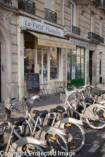 Petit Plateau Restaurant, Ile de la Cite, Paris