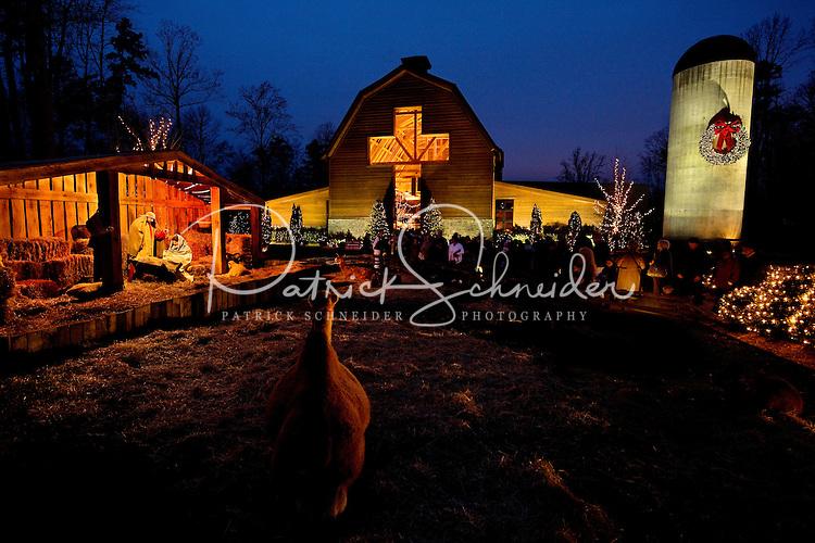 christmas light displays charlotte nc
