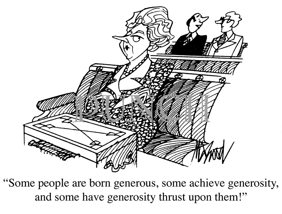 Image result for generosity cartoons