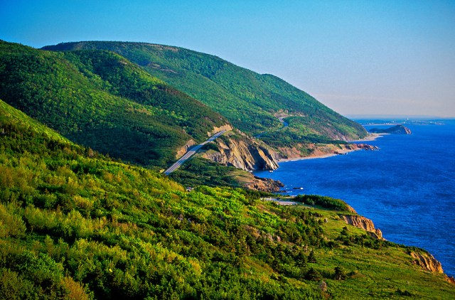 نتيجة بحث الصور عن The Cabot Trail, Nova Scotia