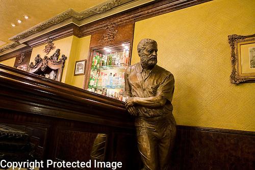 Hemingway Statue, Cafe Iruna, Pamplona