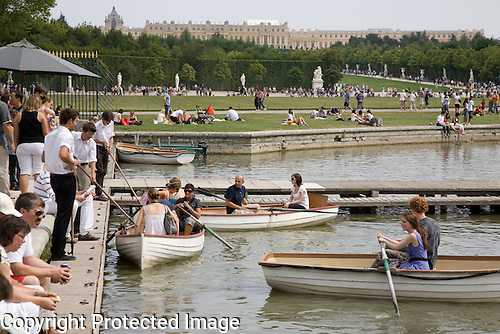 Grand Canal, Versailles, Paris
