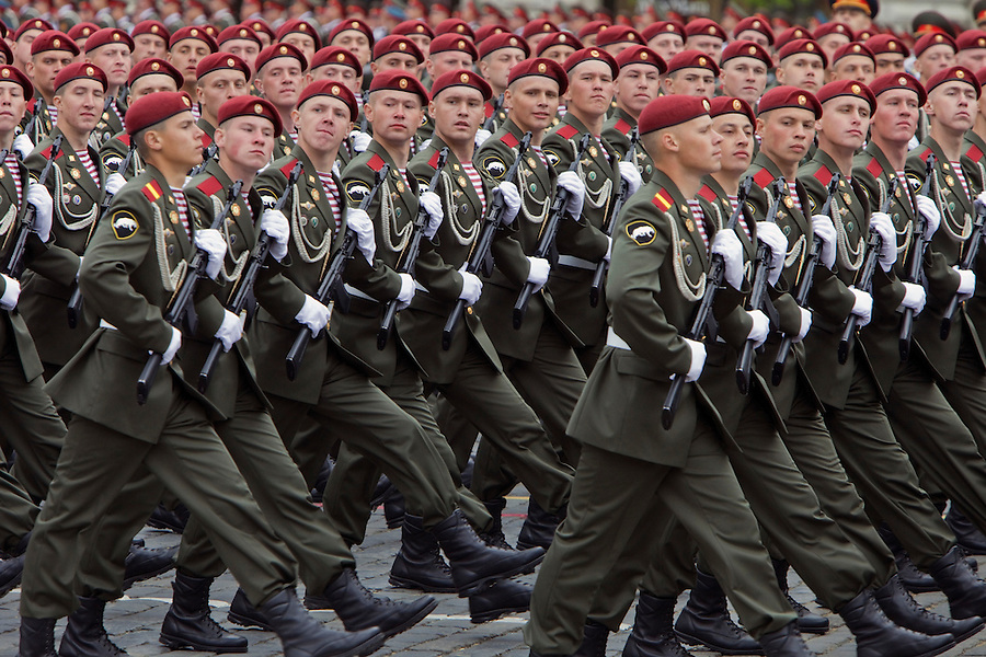 Image result for russians marching