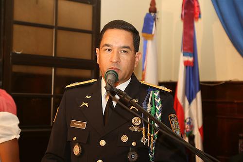 El general Eduardo Alberto Then