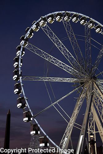 Ferris Wheel, Place de la Concorde, Paris