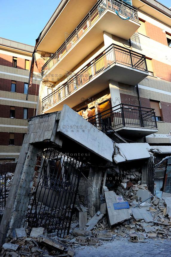 Image result for aquila earthquake casa degli studenti