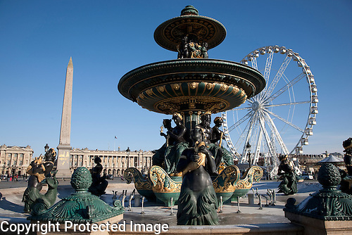 Place de la Concorde Square, Paris, France