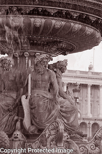 Fountain, Place de la Concorde, Paris