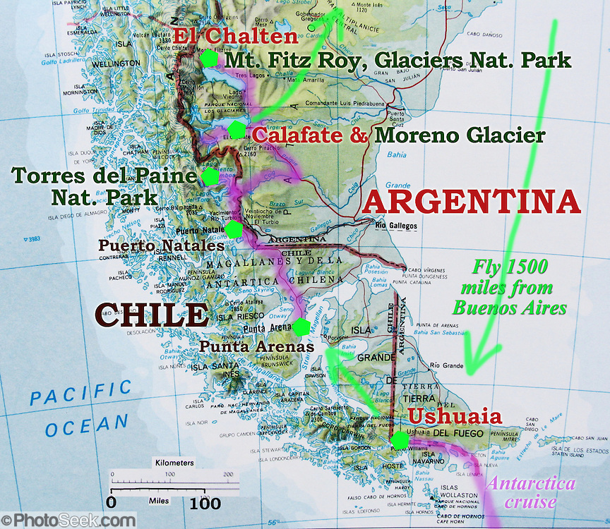 Image result for map patagonia