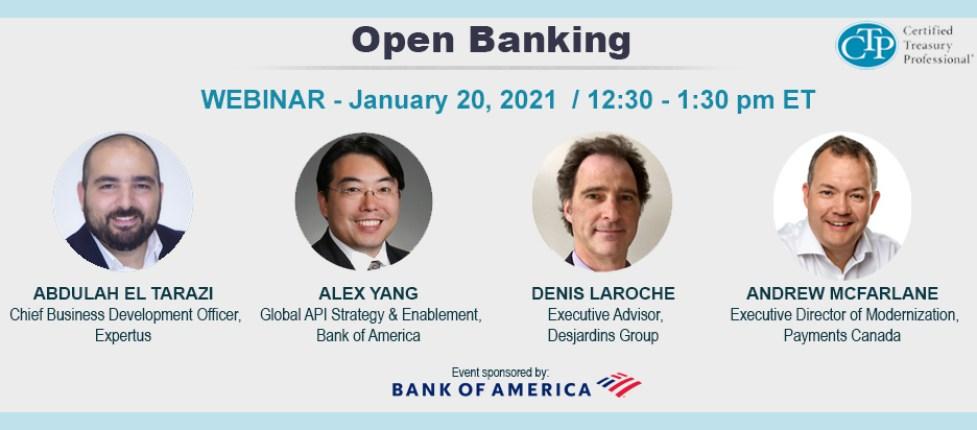 Webinar - Open Banking