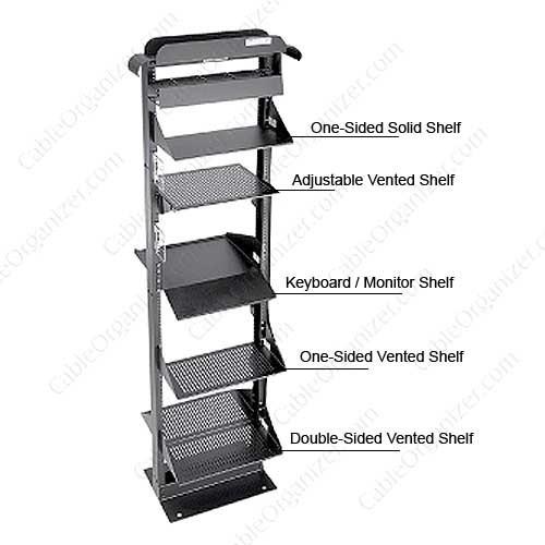 rack mount shelves for server racks