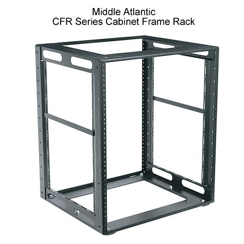 middle atlantic cabinet frame rack