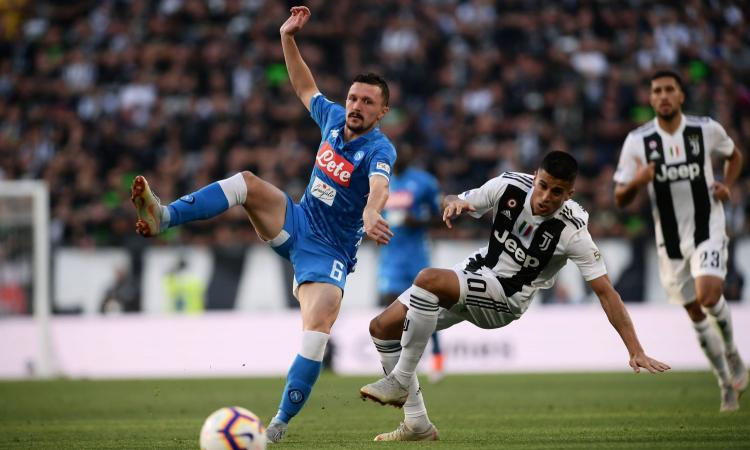 Juventus Napoli La Moviola Espulsione Corretta Per Mario