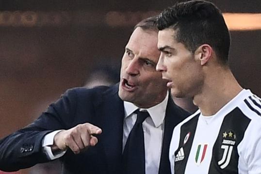 cc5cf5baf Report  Psg want Allegri and Ronaldo - Football News 24