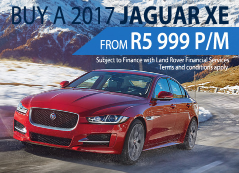 2017 Jaguar XE from R5 999 monthly installment