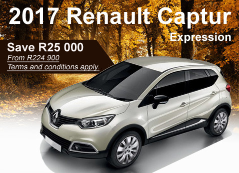 2017 Renault Captur Expression from R224 900