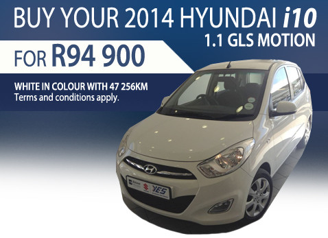 2014 Hyundai i10 1.1 GLS Motion