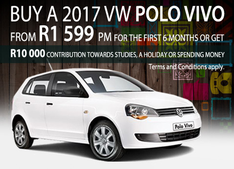2017 VW Polo Vivo R1 500 per month for 5 months special