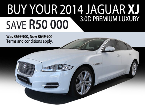 2014 Jaguar XJ 3.0D Premium Luxury - Save R50 000