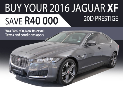 2016 Jaguar XF 2.0D Prestige