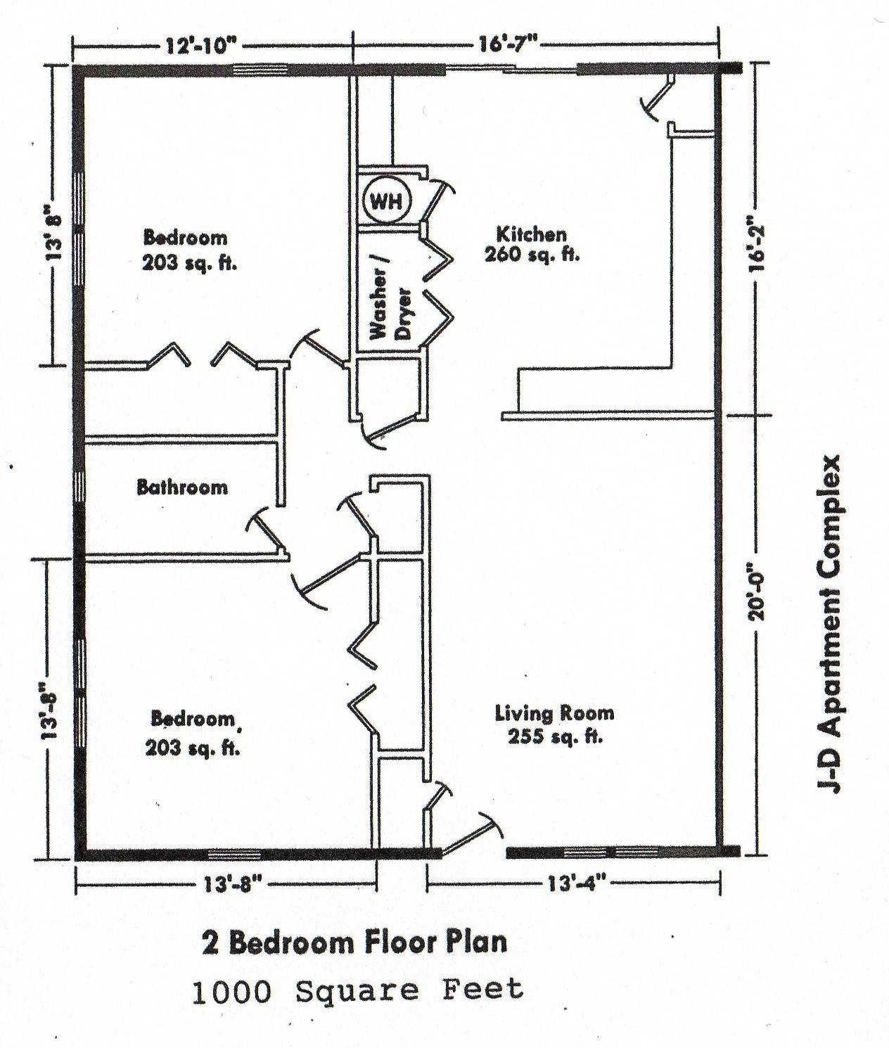 Awesome 19 Images Two Bedroom Addition Floor Plan