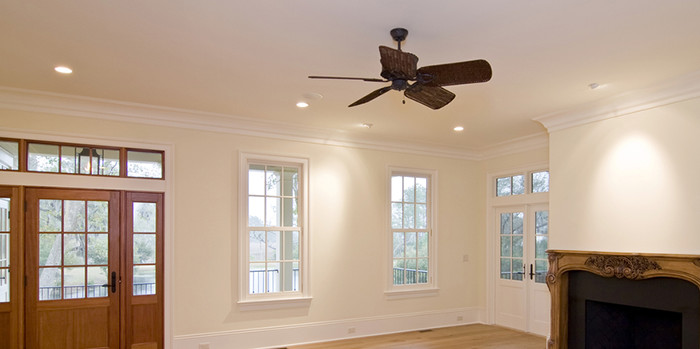 How to use ceiling fans reduce heating costs lightneasy the official bonfe heating cooling blog minneapolis and st paul ceiling fans aloadofball Gallery