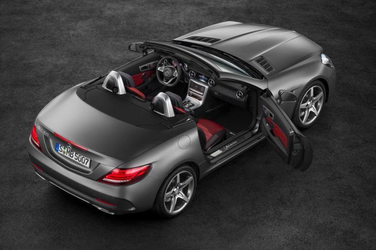 2017-2020 Mercedes-Benz SLC-Class Top View