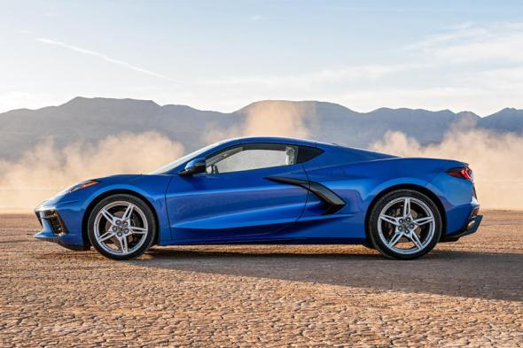 2020-2021 Chevrolet Corvette C8 Side View