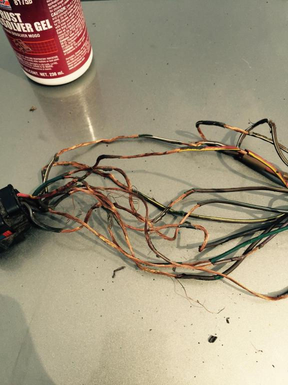 Chrysler Town Amp Country Wiring Harness Melted On The