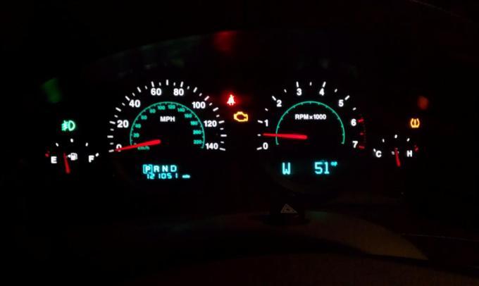 Kenworth Dash Lights Flashing