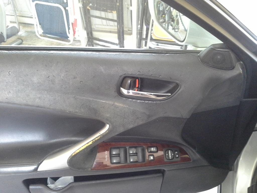 2008 Lexus IS 250 Melting Dashboard And Doors 5 Complaints