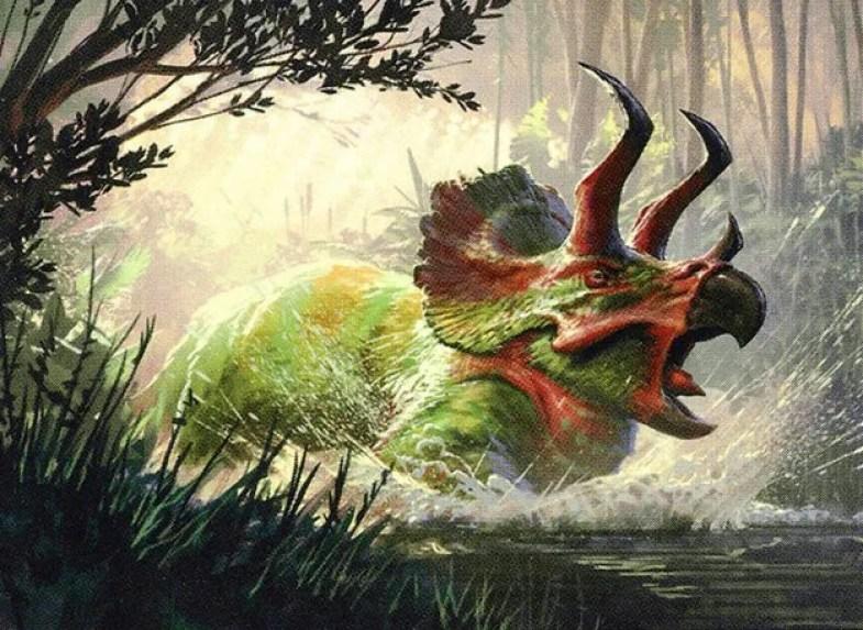 Shifting Ceratops - Magic: the Gathering MTG