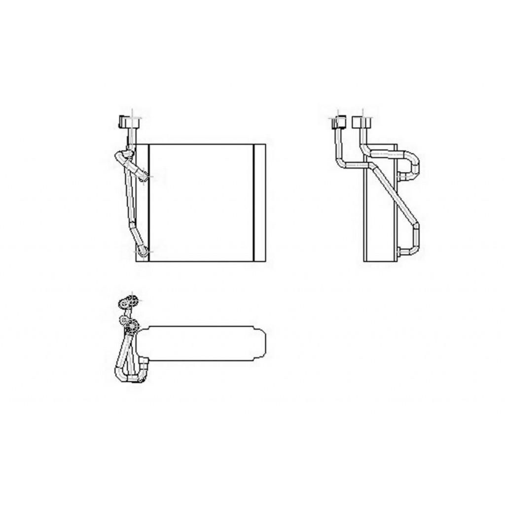 For Chevy Ssr Trailblazer Ext Evaporator 04 05